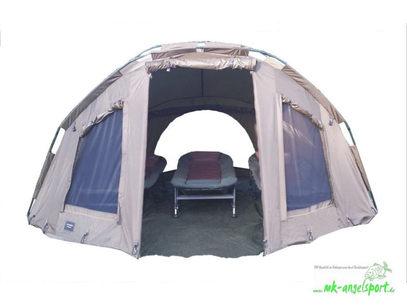 Angelzelte, ​Bivvy MK-Angelsport 5 Season Dome Pro 3,5 Mann Angelzelt, Bivvy