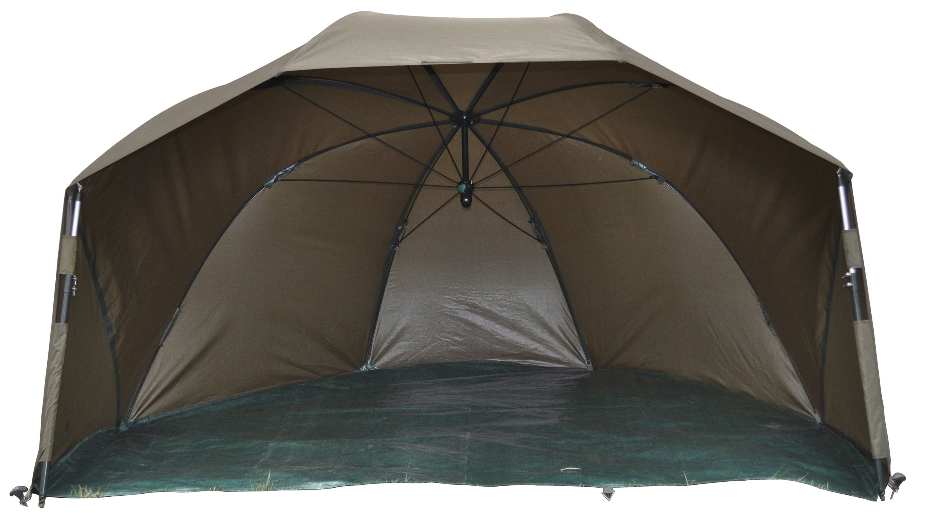 Angelschirm, ​Brolly MK-Angelsport Short Session Shelter 60, Bivvy, Brolly